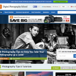 http://digital-photography-school.com screenshot